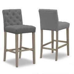 Glamour Home tabourets 29po (ens:2)