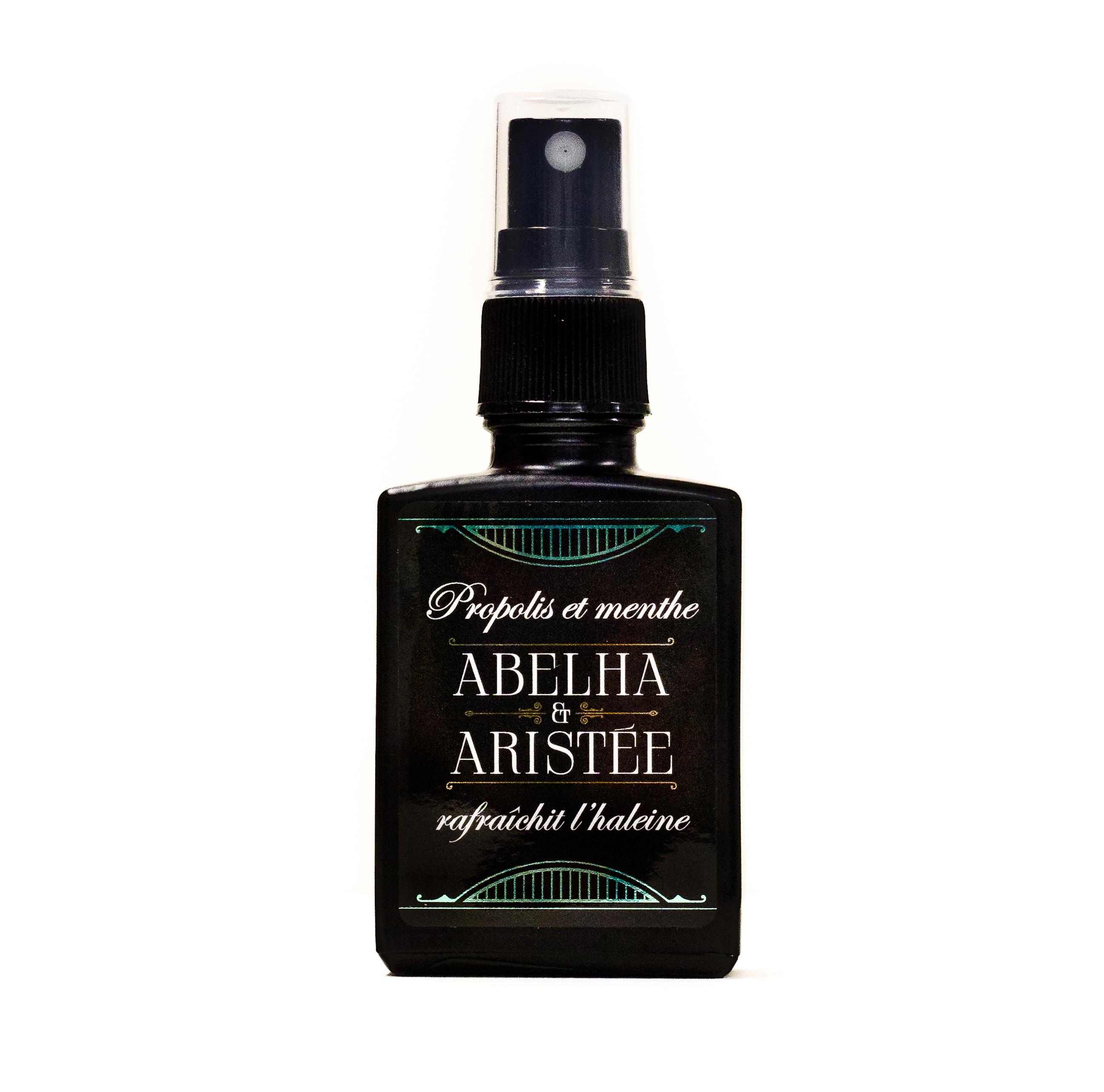 Vaporisateur propolis et  huile essentielle de menthe poivrée