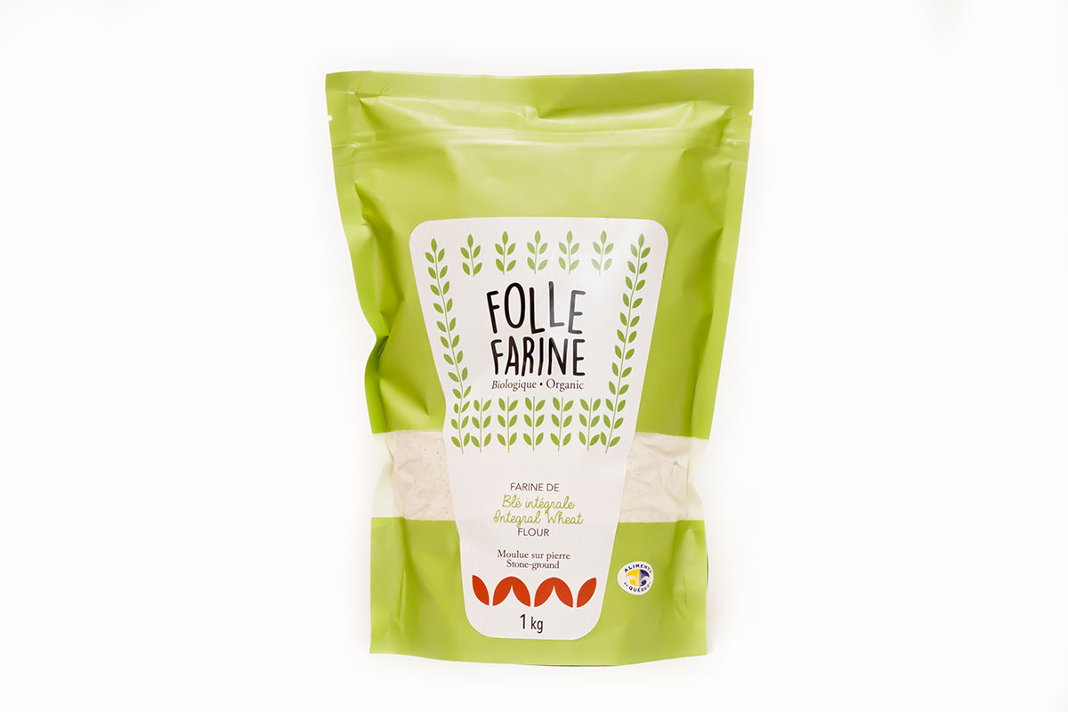 Farine de blé intégrale <br/>1 kg
