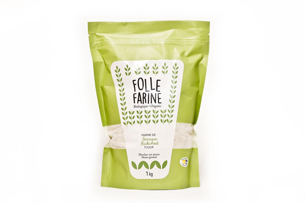 Farine de sarrasin biologique <br/>1 kg