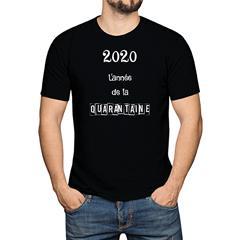2020 l'année de la quarantaine - Homme - Medium