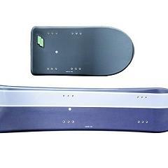 Planche avant et arrière gris/violet
