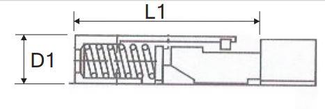 QBEXEL Type Hu2 teflon wedge