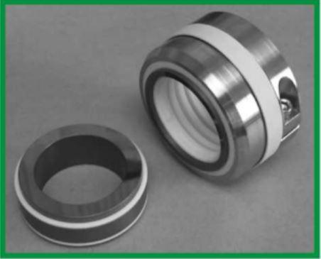 QBEXEL Type QB10T  teflon bellow extrême corrosif