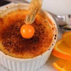 La crème brûlée classique à la vanille