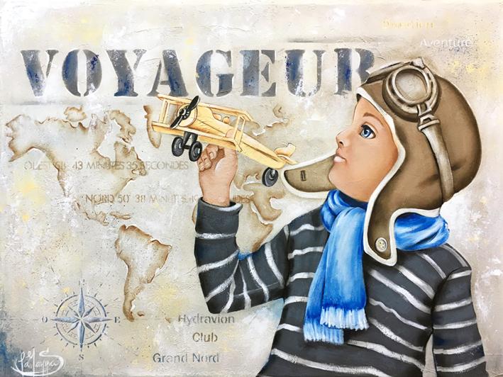 # 119 Le voyageur par Sylvie La Manna