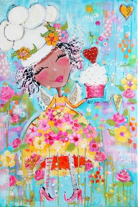 # 151 Gâteau des anges par Colette Falardeau