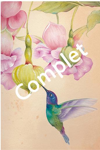 # 104 Colibri et fuchsia par Willow Wolfe