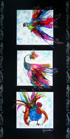 # 111 Oh les beaux oiseaux par Lise Comtois