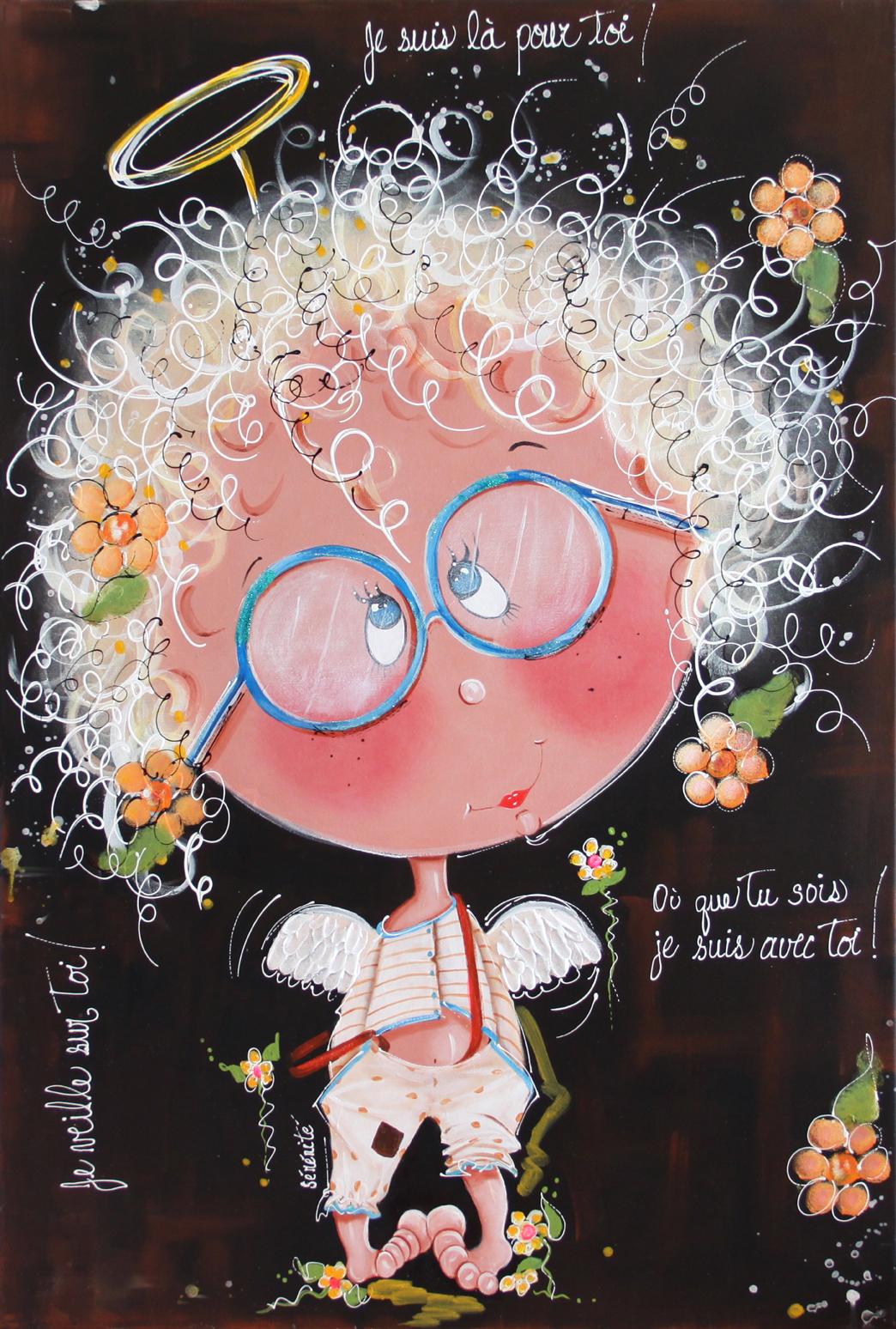 # 105 Petit ange d'amour! par Colette Falardeau