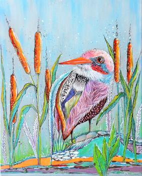 # 143 Drôle d'oiseau par Carole Laurence