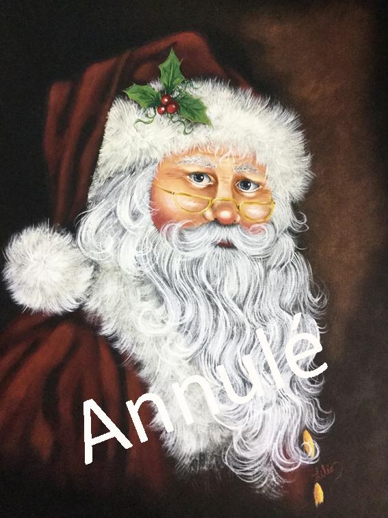 # 108 Père Noël par Liette Léonard
