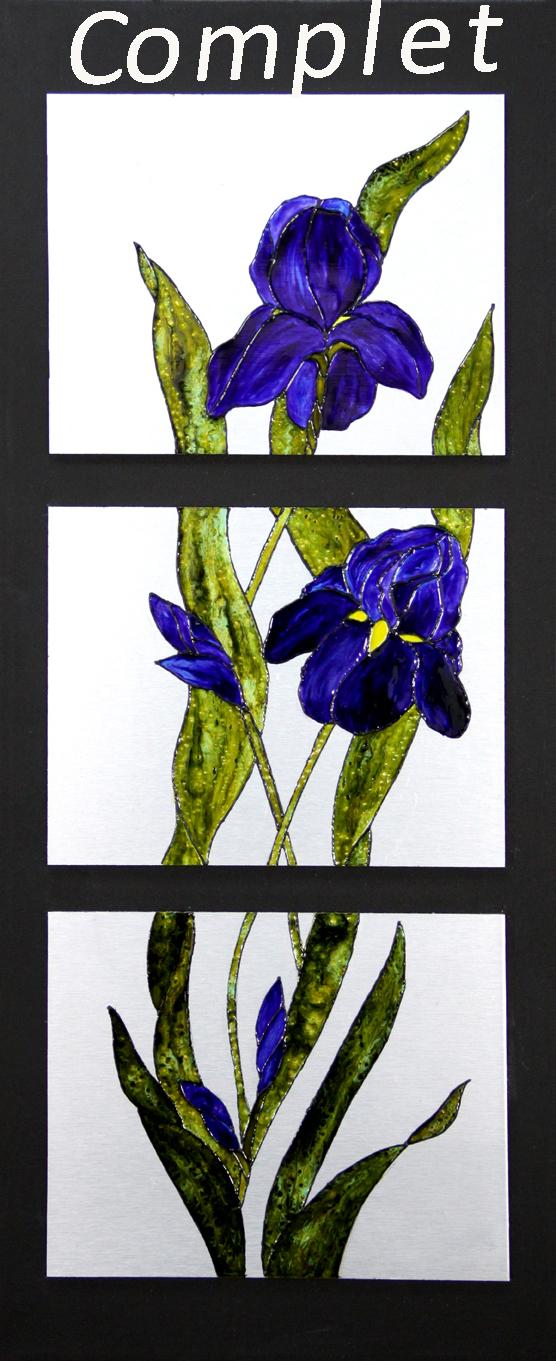 # 106 Iris par Guylaine Desrochers