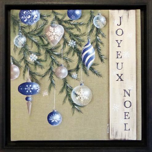# 130 Un Noël en bleu par Cathie Migout