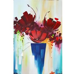 # 148 Rouge profond par Nancy Cayouette