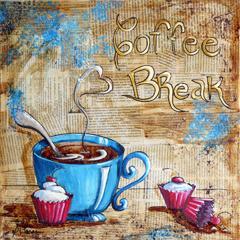 # 122 Pause café par Suzanne Claveau