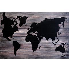 # 134 Les continents sur faux-fini par Guylaine Desrochers