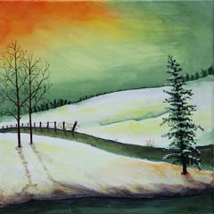 # 124 Promenade hivernale par Nicole Paré