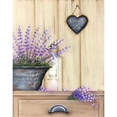 # 136 Un doux parfum de lavande par Cathie Migout