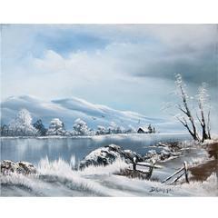 # 141 Transparence d'hiver par Deny Cloutier