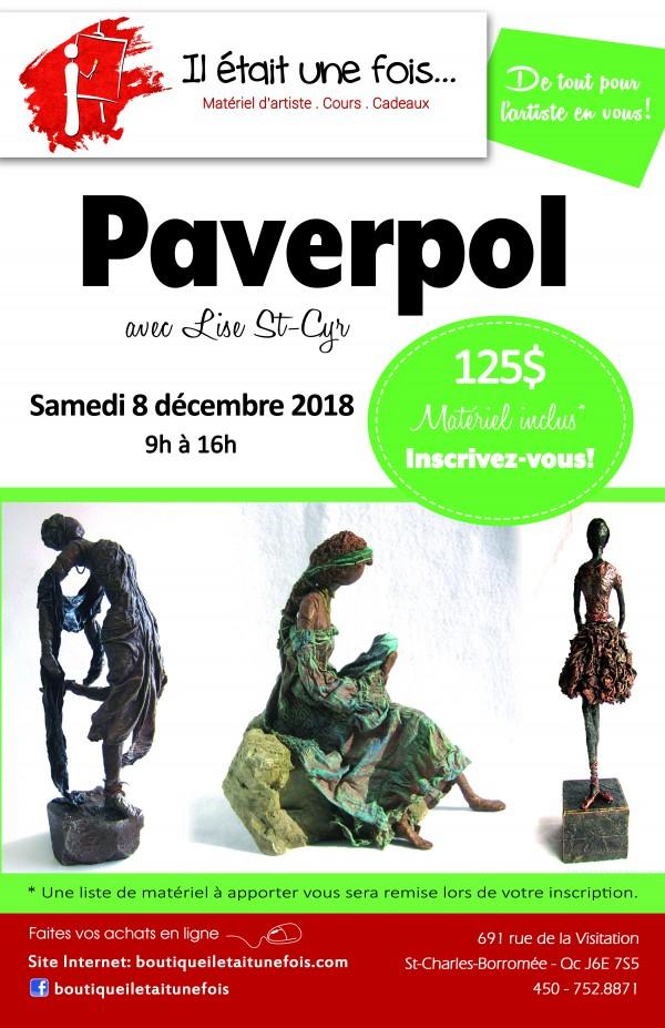 Séminaire de Paverpol avec Lise St-Cyr