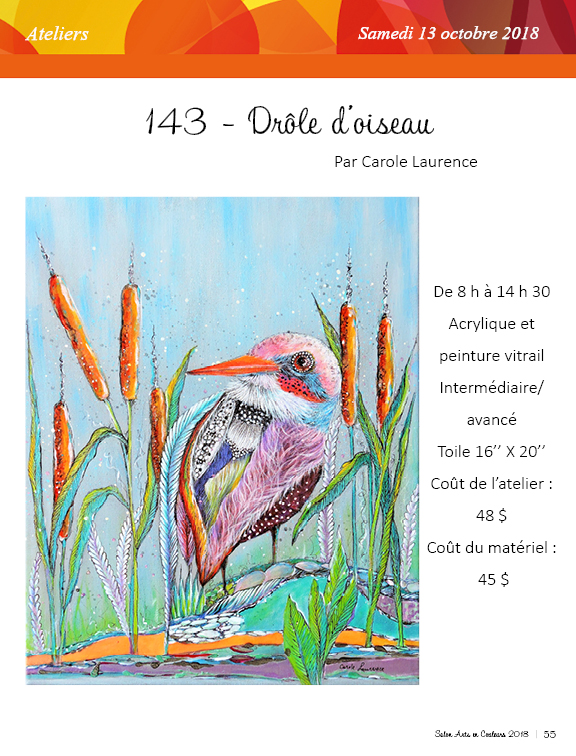Salon des arts en couleurs - Catalogue 2018