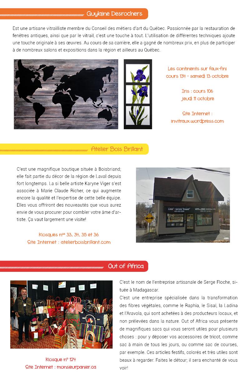 Salon des arts en couleurs - Bulletin no 4
