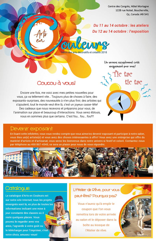 Salon des arts en couleurs - infolettre 8