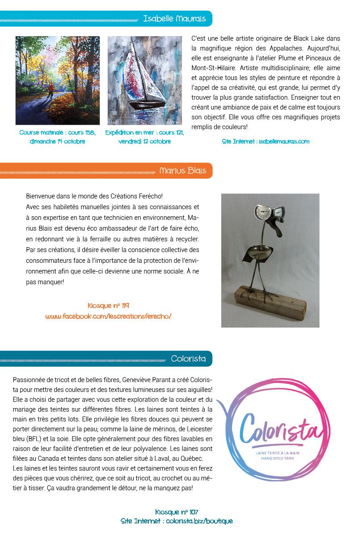 Salon des arts en couleurs - Bulletin no 6
