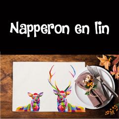 NAPPERON EN LIN