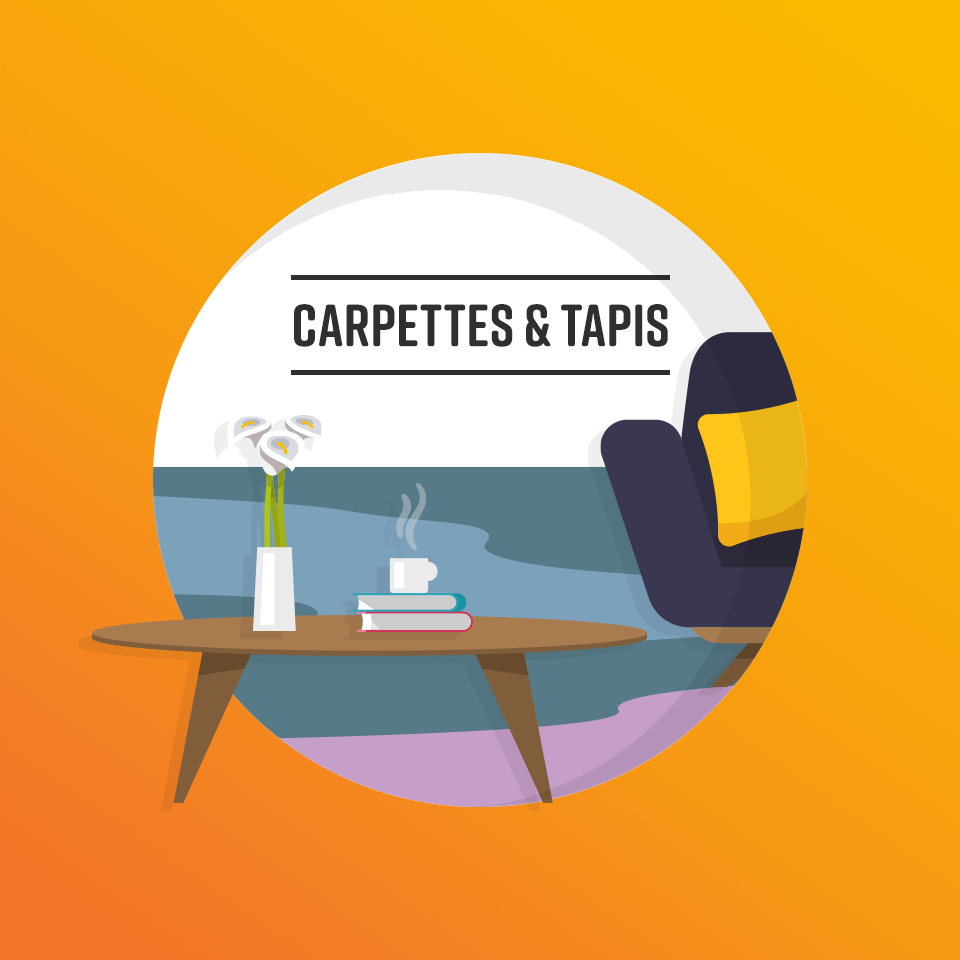 Carpette et tapis